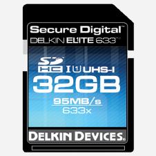 Beitragsbild: Delkin mit neuer 95 MB/s schnellen UHS-I SDHC Memory Karte