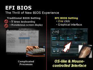 Beitragsbild: Asus stellt neue Mainbords vor und setzt erstmals auf das EFI-BIOS