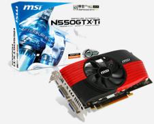 Beitragsbild: MSI ebenfalls mit GTX550 Ti Vielfalt