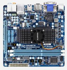 Beitragsbild: Gigabyte kündigt offiziell APU basierendes Mini-ITX Mainboard