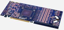 Beitragsbild: Alternativ-Layout eines PCB's für HD 6970 abgelichtet