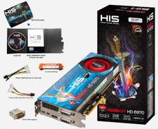 Beitragsbild: HIS kündigt OC-Editions der HD6950 und HD6970 an