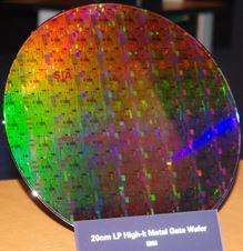 Beitragsbild: IBM mit erstem 20nm-Wafer