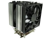 """Beitragsbild: CPU-Kühler """"The Black Edition"""" mit 7 Heatpipes von GELID"""