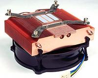 Beitragsbild: Flacher Vollkupfer-Kühler LP53 von Thermolab