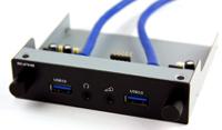 """Beitragsbild: Scythe zeigt Multifunktionspanel """"Kaze Station II"""" mit USB 3.0"""