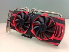 Beitragsbild: Powercolor zeigt ersten Protoyp der Radeon HD6950 PCS++ Vortex Edition