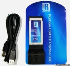 Beitragsbild: Expresskarte mit integrierter SSD im USB-3.0-Hub