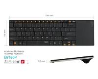 Beitragsbild: Rapoo E9180P: Tastatur mit Touchpad für Gestensteuerung