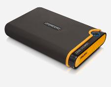 Beitragsbild: Externe USB-3.0-SSD von Transcend