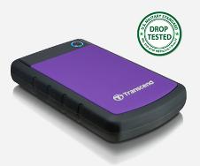 Beitragsbild: Transcend stellt externe 1TB 2.0- sowie 3.0- Festplatten vor