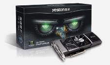 Beitragsbild: Yeston ebenfalls mit GeForce GTX 590 im Referenzdesign