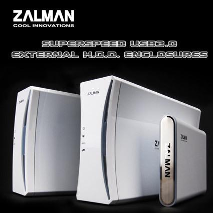Beitragsbild: Zalman mit drei neuen externen HDD-Gehäusen