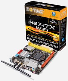 Beitragsbild: Zotac stellt neues Mini-H67-ITX Mainboard vor