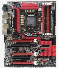 Beitragsbild: FATAL1TY Gaming Mainboard von Asrock mitsamt P67 und 1155 Sockel