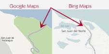 Beitragsbild: Falsche Grenze in Google Maps führt zu Konflikt