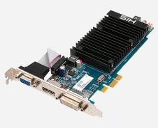 Beitragsbild: HIS mit PCIe-x1-Slot-Karte auf Basis der HD 5450