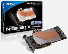 Beitragsbild: MSI GeForce GTX 580 HydroGen OC im Preisvergleich gelistet