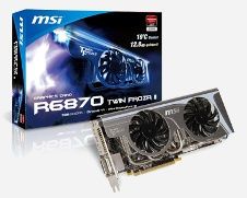 Beitragsbild: MSI: HD 6870 mit Twin Frozr II