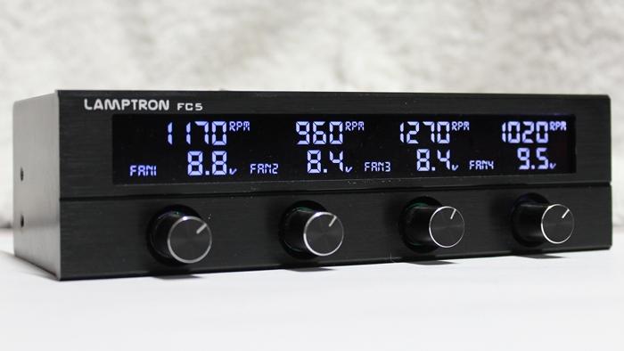 Beitragsbild: Lamptron FC5 V2 Fan Controller
